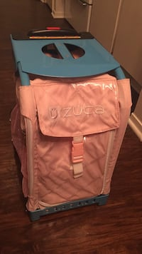 """Zuca Bag- """"New"""" Never used.. (customize this bag with your fav. pics and store your fav. skates!) paid $150.00 Odessa, 79762"""