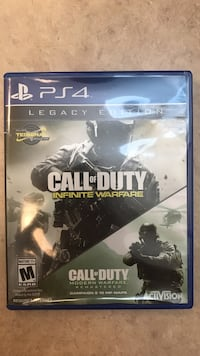 Legacy Edition Call of Duty Infinite Warfare and Modern Warfare PS4 Thunder Bay, P7G 1N1