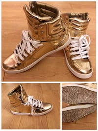 Size 10 Gold High Tops