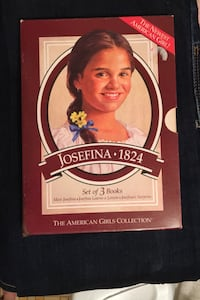 Vintage 1997American girls collection set of three books