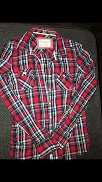 Red plaid top from Aero  Anaheim, 92804