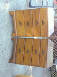 These are 2 solid oak night stands for $125 ea. Otsego, 49078