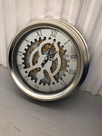 Industrial Wall Clock from Bowring