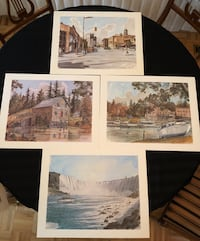 """Twelve 16"""" x 20"""" Full Colour Reproductions of Niagara Scenery by Ben Bablowsky Markham, L3T"""