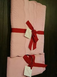 NWT Pink Williams Sonoma Placemats & Napkins London, N6G