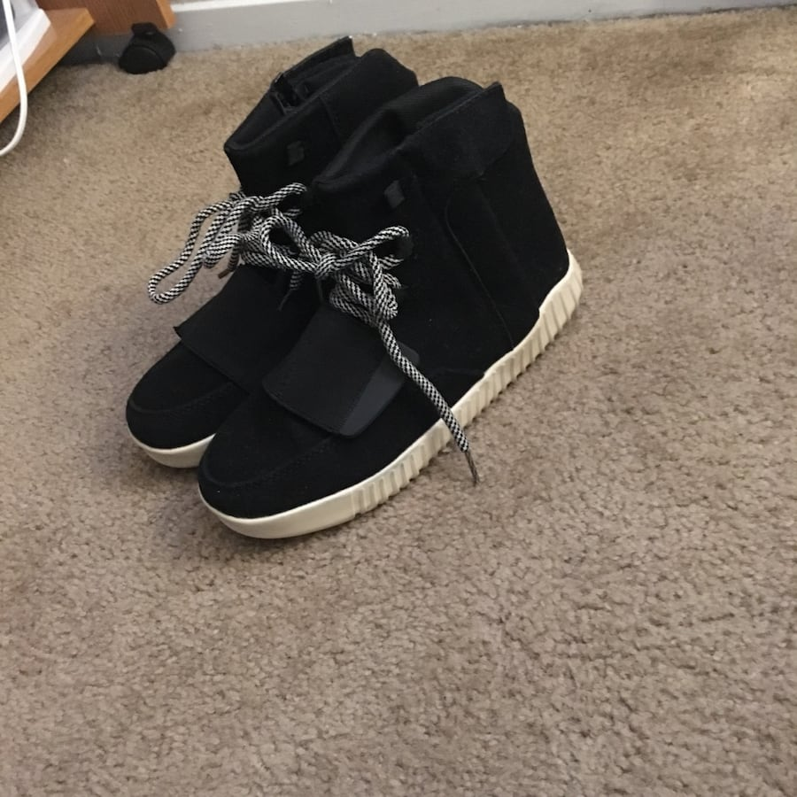 Yeezy style kicks shoes mid sneakers