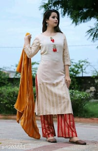 women's brown and red long sleeve dress Delhi, 110086