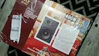 8 inches two way 400 watts Pyle speaker system box