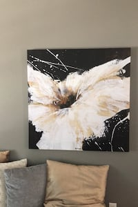 Abstract Canvas Wall Art  Frederick, 21701