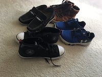 $25 4 pairs of shoes size 3 Sterling
