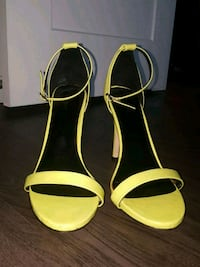 Neon yellow/green sandals. Size 11 Arlington, 22203
