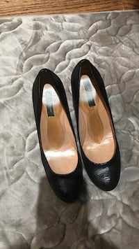 pair of black leather flats Bethesda, 20817