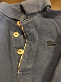 Burberry long sleeve polo style shirt size 2 Gaithersburg, 20879