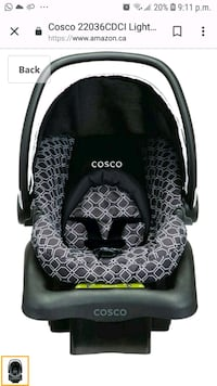 black and gray Graco car seat carrier Toronto, M4P 2S8
