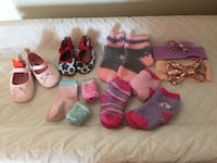 0-6 months, shoes, socks and hairbands Brampton, L6Y 2R8