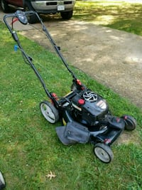 black and red push mower North Springfield, 22151