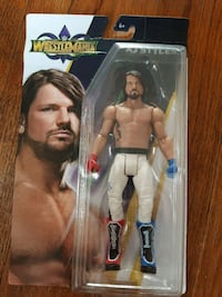 Wwe aj styles toy/ action figure
