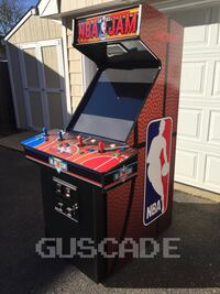 NBA JAM Arcade Machine Plays over 1037 games 4-Player FULL SIZE coinop Melville, 11747