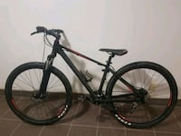 black and red hardtail mountain bike Winnipeg, R3J 3J5