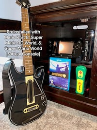 Wii U 32 GB + 3 Mario Games & Guitar Hero Live Bundle Aldie, 20105