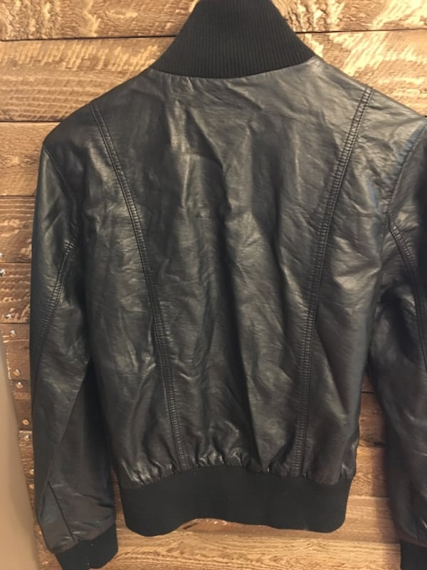 LIKE NEW Faux leather jackets e584e648-b821-428b-b1a5-fb5182f7eeef