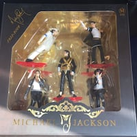 Michael jackson action figure set.