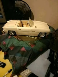 white convertible coupe die-cast model Milwaukee, 53206