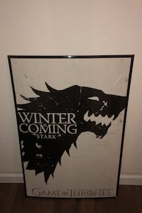 Game of Thrones Poster--Winter is coming framed Monroe, 10950