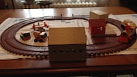 Wooden Train Set, plus extra wooden trucks and Airplane. Ashton, 20860