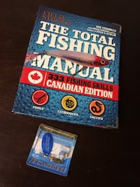 Fishing book & Fishing Hook Edmonton, T6E 0R2