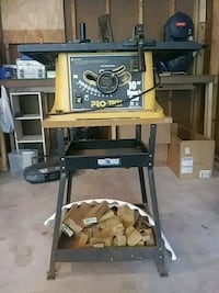 """Pro-Tech 10"""" Bench Saw and Stand Manassas, 20112"""