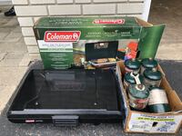 Coleman Propane portable grill and propane cylinders TORONTO