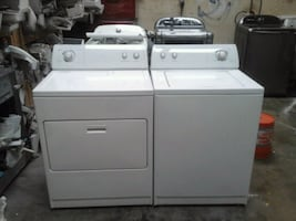 Affordable whirlpool washer and electric dryer