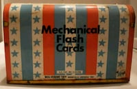 Vintage Mechanical Flash Cards Toy Winchester, 22601