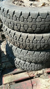 4 tires good year size r 8 R19.5 Burnaby, V5J 3J1