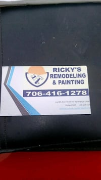 Rickey's Remodeling & Painting business card