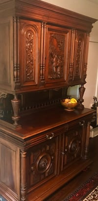Antique hutch. Appraised at over 3500. Fairfax Station, 22039