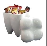 Sweet tooth cookie candy jar
