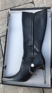 Real Italian Leather Boots Vaughan