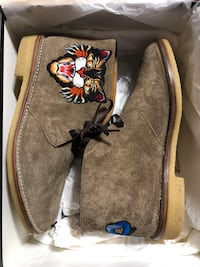 Gucci Angry Cat Dessert Boot