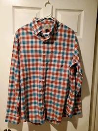 6 Men's Long Sleeve Collared Shirts Brooks Brothers & LL Bean