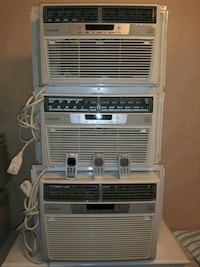 3 Frigidaire air conditioners with remotes Winthrop, 02152