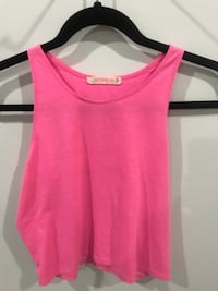women's pink sleeveless top Surrey