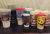 Lot of assorted collectible plastic cups Oakville, L6M