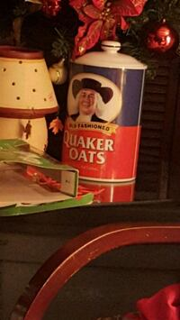 Quaker cookie jar Santa Monica