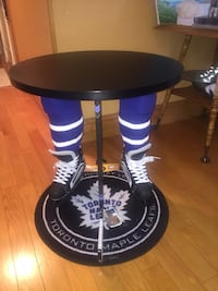 Hockey Round End Table