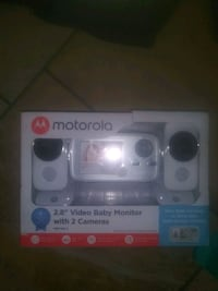 Brand new motorola baby monitor with two cameras