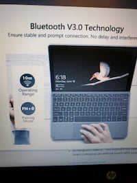 Surface Go LED Bluetooth Keyboard w Trackpad NEW IN BOX ½ PRICE