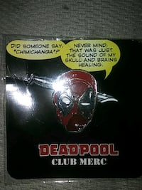 Deadpool collectible hat pin Bell Gardens, 90201
