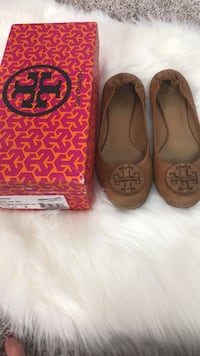 Tory Burch Leather Flats Size 8 Harpers Ferry, 25425